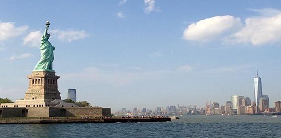 Lady Liberty on Liberty Island