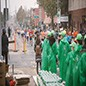 Picture of International visitors are the largest group of volunteers at the NYC Marathon