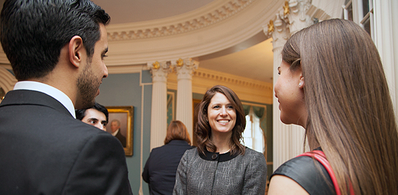 DAS Lerner speaks with J-1 Interns from Mexico
