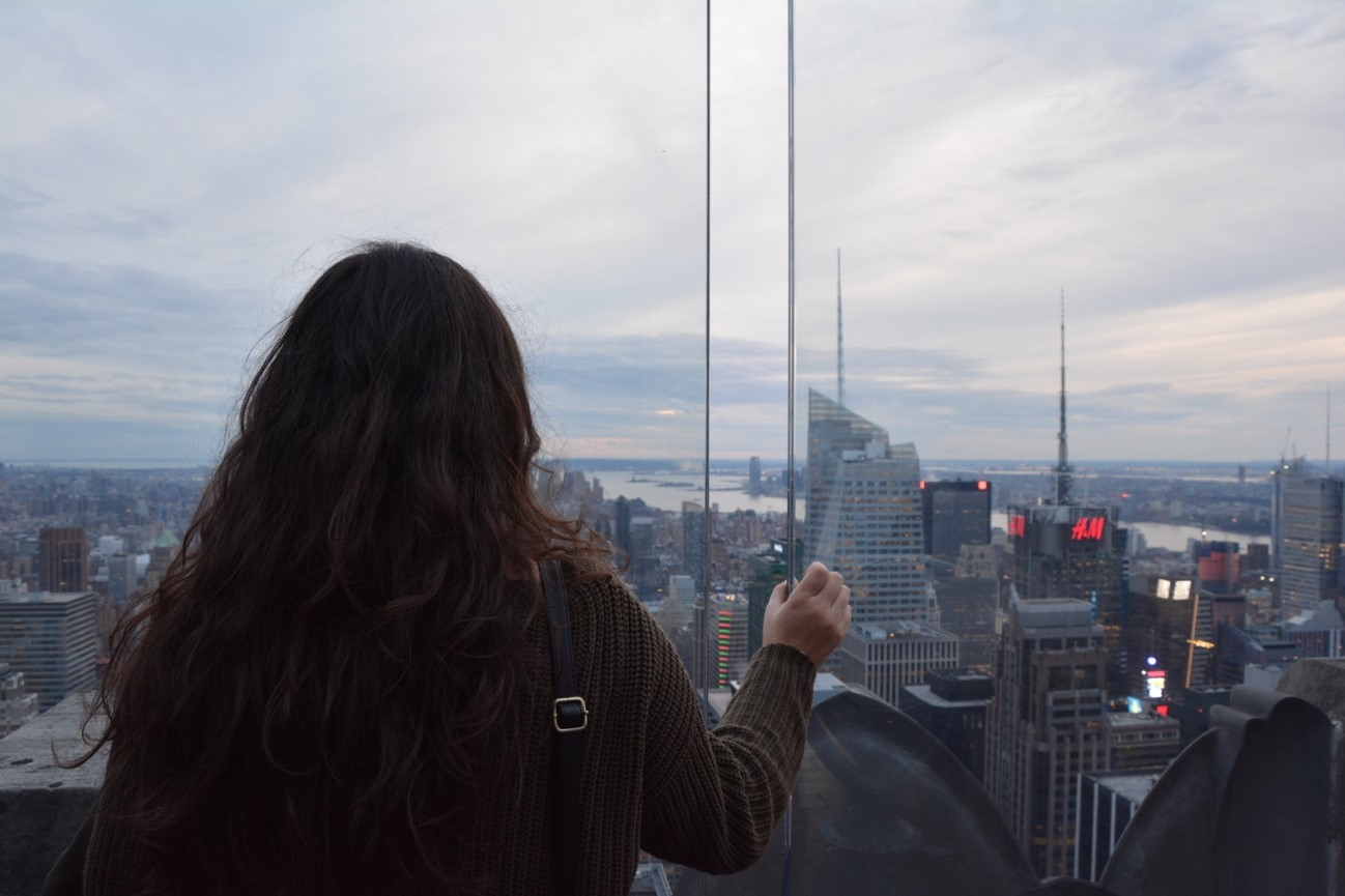 Stunning views of the city from the Top of the Rock (Rockefeller Center)